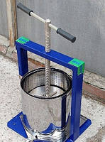 Пресс для винограда Вилен 10 литров. Кожух нержавеющая сталь