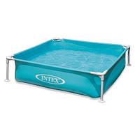 Каркасный детский бассейн Intex 57173 (120Х120Х30 см)
