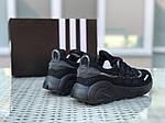 Мужские кроссовки Adidas (черные), фото 5