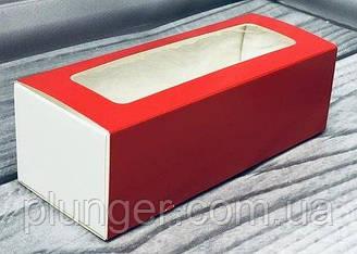 Коробка с окном для макаронс
