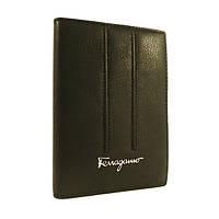 Обложка для паспорта кожаная женская Salvatore Ferragamo 4384 черная, расцветки