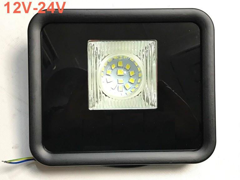 Світлодіодний линзованый прожектор LEON SL-50Lens 50W 12-24V DC 6400K IP65 Код.59634