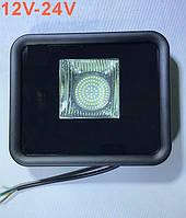 Светодиодный прожектор LEON SL-50 50W 12-24V DC 6400K IP65 Код.59635