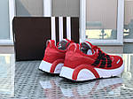 Мужские кроссовки Adidas (красные), фото 2
