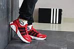 Мужские кроссовки Adidas (красные), фото 4