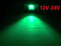 Светодиодный линзованый прожектор PREMIUM LEON SL-50GLens 50W 12-24V DC зеленый IP65 Код.59646