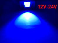 Светодиодный линзованый прожектор PREMIUM LEON SL-50ВLens 50W 12-24V DC синий IP65 Код.59644