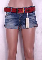 Модные турецкие джинсовые шорты.