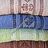 Махровое банное полотенце Орнамент