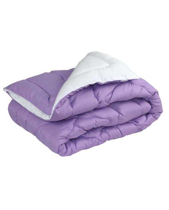 Одеяло шерстяное Руно зимнее 140х205 полуторное сиреневое