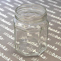 Банка стеклянная твист восьмигранная 0,229 л то-63  40 шт