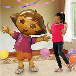 Фольгированный ходячий шар Даша путешественница, Anagram (США)