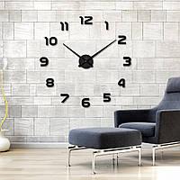 Настенные 3d часы Timelike 130см T4202 Black