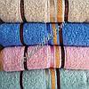 Махровое банное полотенце Полоски