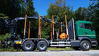 Специализированный кран для лесовозов Hyva HZT 140 L0