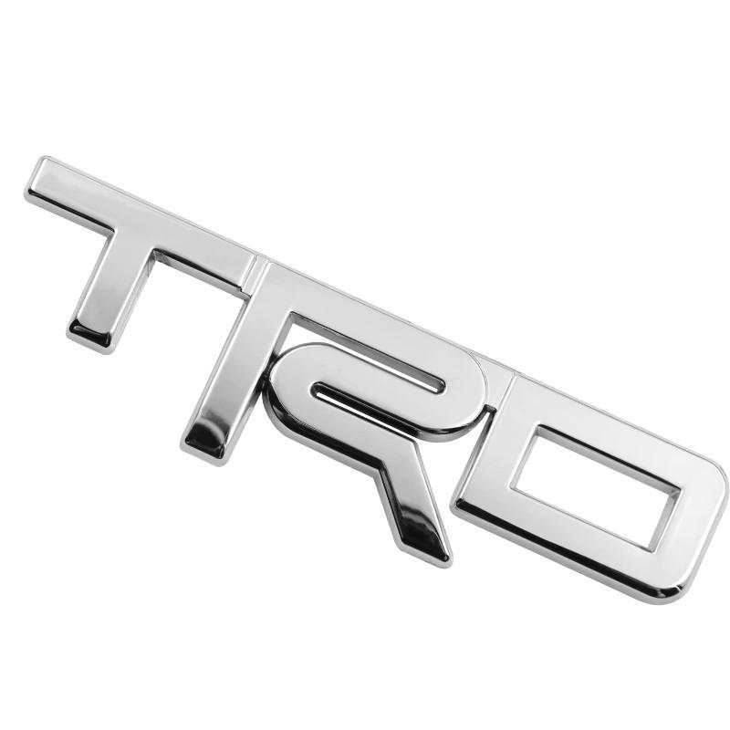 3D эмблема TRD - метал хром, фото 1