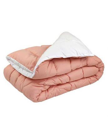 Одеяло шерстяное Руно персиковое зимнее 200х220 евро, фото 2