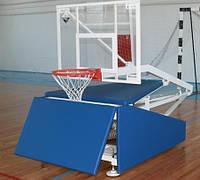 Стойка баскетбольная мобильная бюджетная вынос 150 см