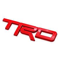 3D эмблема TRD - метал красная, фото 1