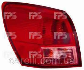 Фонарь задний для Nissan Qashqai'06-09 левый (DEPO) внешний