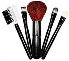 Набор кисточек для макияжа TianDe (5 штук)