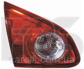 Фонарь задний для Nissan Qashqai'06-09 левый (DEPO) внутренний