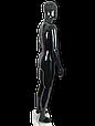 Манекен черный  мужской, фото 2