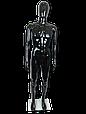 Манекен черный  мужской, фото 3