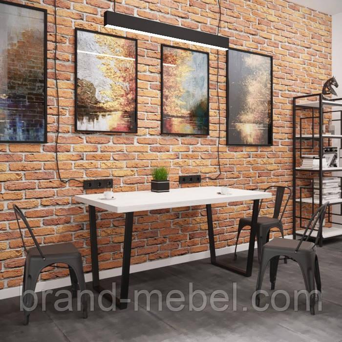 Стіл обідній Бінго Лайт (стол обеденный Бинго) в стилі Лофт Loft
