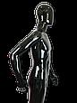 Манекен черный  мужской согнутая рука, фото 3