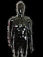 Манекен черный  мужской согнутая рука, фото 4