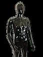 Манекен черный  мужской согнутая рука, фото 5