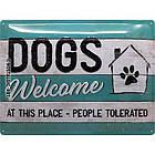 Табличка Nostalgic-Art Pfoten Dogs Welcome (23246), фото 2
