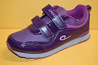 Детские Кроссовки повседневные Bi&Ki Китай 8734 Для девочек Фиолетовый размеры 33_38, фото 1