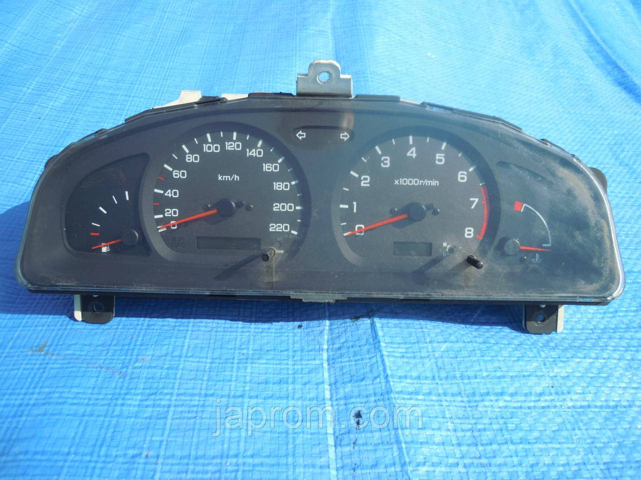 Панель щиток приборов Nissan Almera N15 1999-2000г.в. 1.4 1.6 бензин рестайл