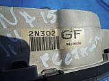 Панель щиток приборов Nissan Almera N15 1999-2000г.в. 1.4 1.6 бензин рестайл, фото 2