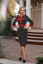 """Облегающее деловое миди-платье на пуговицах """"Cecilia"""" с четвертным рукавом (2 цвета), фото 2"""