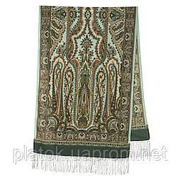 Місто золотий 1643-60, павлопосадский шарф-палантин вовняної з шовковою бахромою