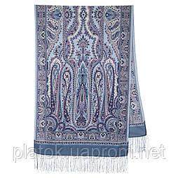 Місто золотий 1643-61, павлопосадский шарф-палантин вовняної з шовковою бахромою