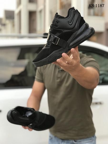 Мужские кроссовки Nike Air Force 270 (черные)