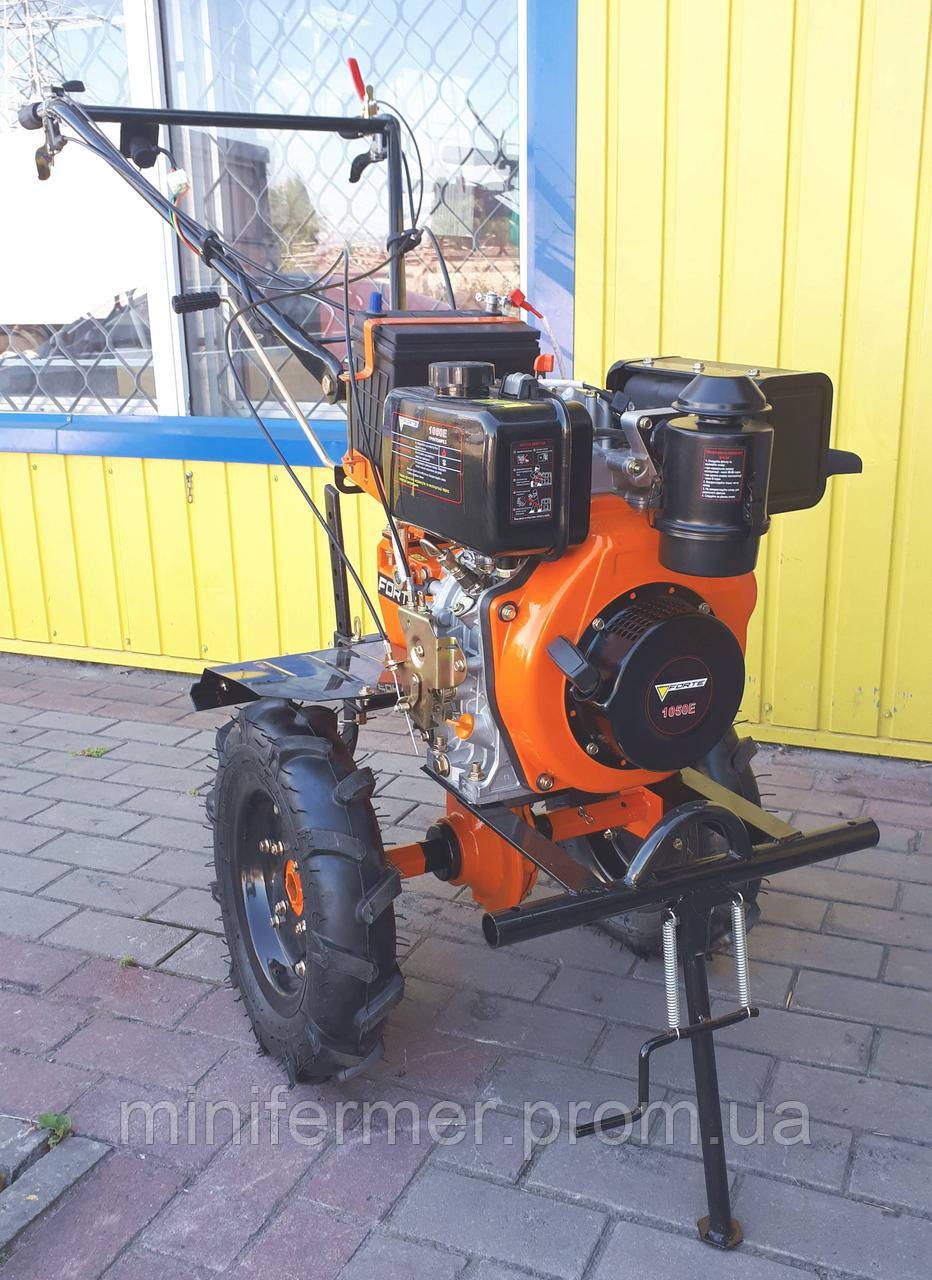 FORTE -1050Е дизель 6 л.с. электростартер