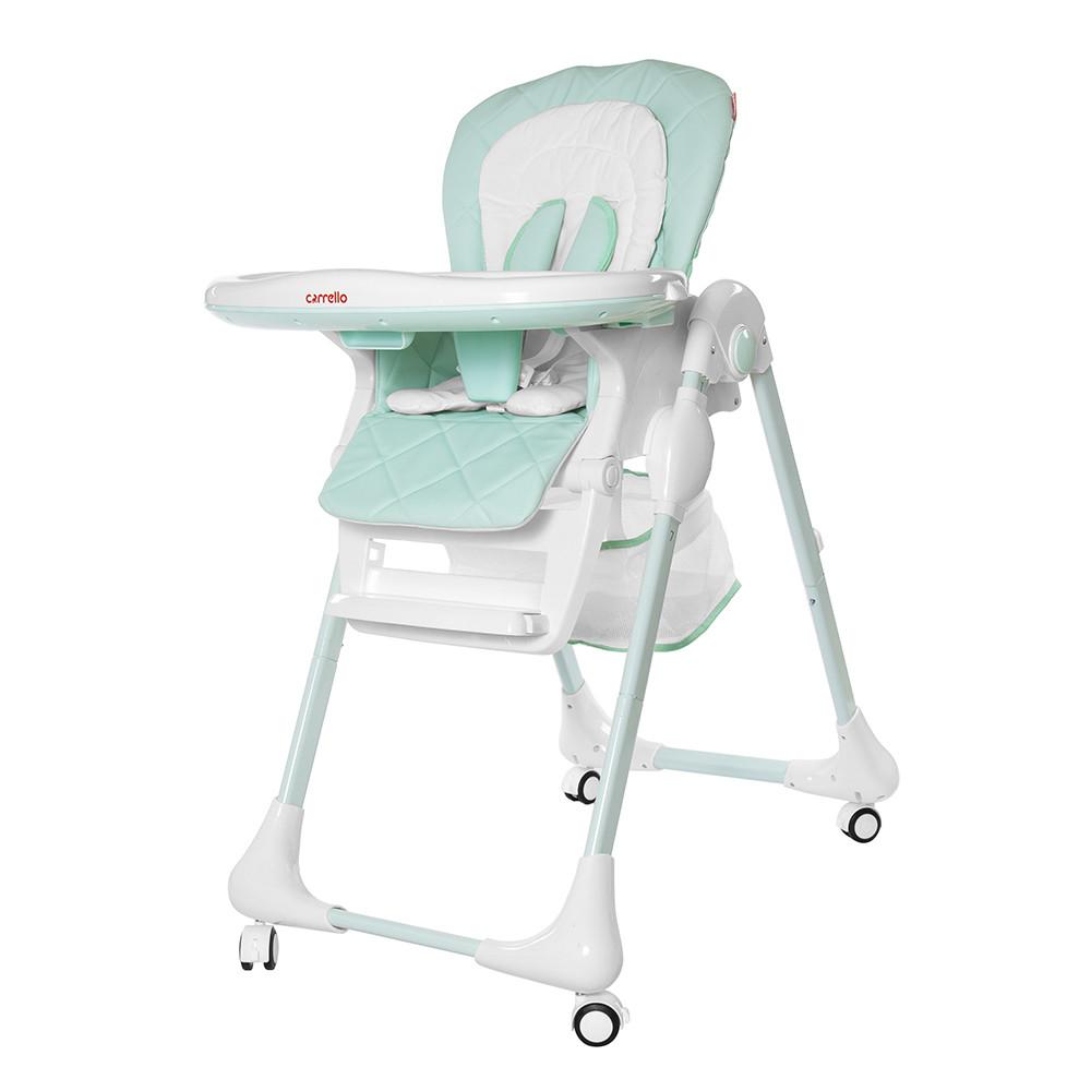 Детский стульчик для кормления CARRELLO Toffee / Sky blue