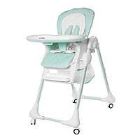 Детский стульчик для кормления CARRELLO Toffee / Sky blue, фото 1