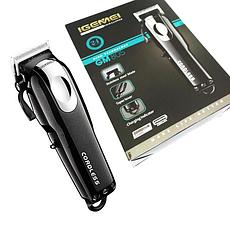 Машинка для стрижки волос GEMEI GM-805 (аккумулятор и от сети)