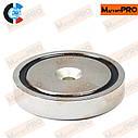 Поисковый неодимовый магнит PME- D90 (400кг), фото 5