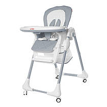 Детский стульчик для кормления CARRELLO Toffee / Cloud grey