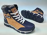 Ботинки зимние подростковые на шнурках от производителя модель ДИ100