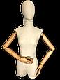 Манекен женский Деревянные руки, фото 6