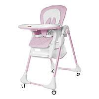 Детский стульчик для кормления CARRELLO Toffee / Candy pink