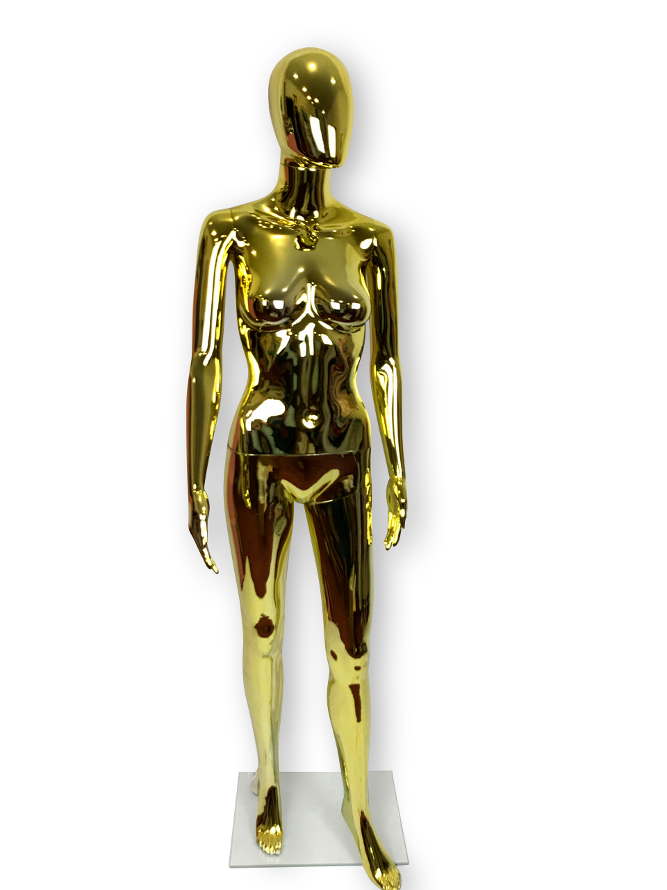 Манекен женский золото
